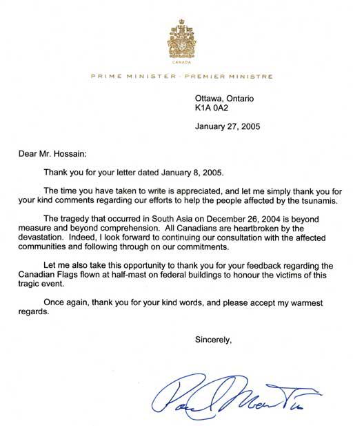 Prime-minister-Paul-Martin-Tsunami